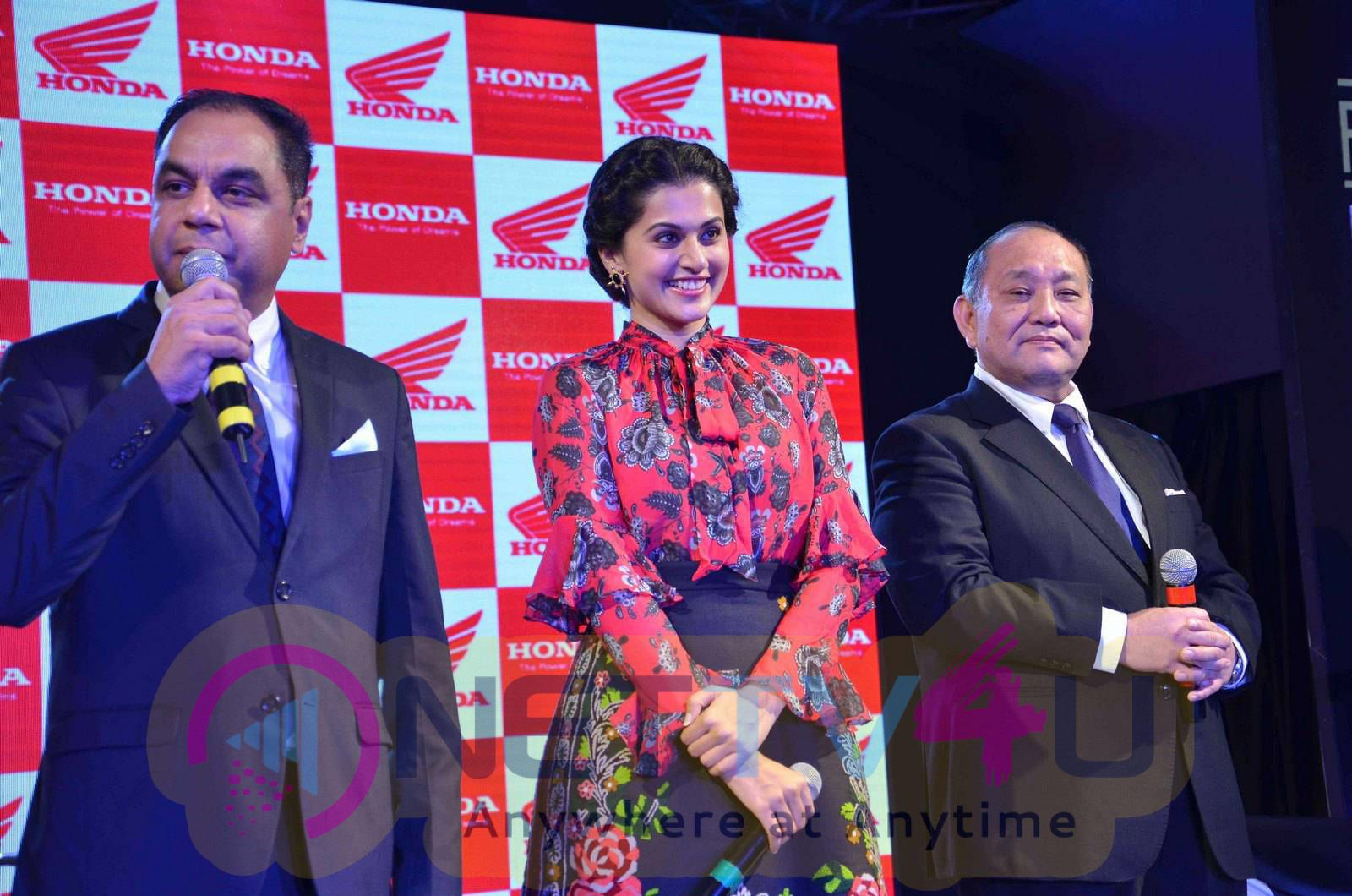 taapsee at activa i and aviator launch photos 18