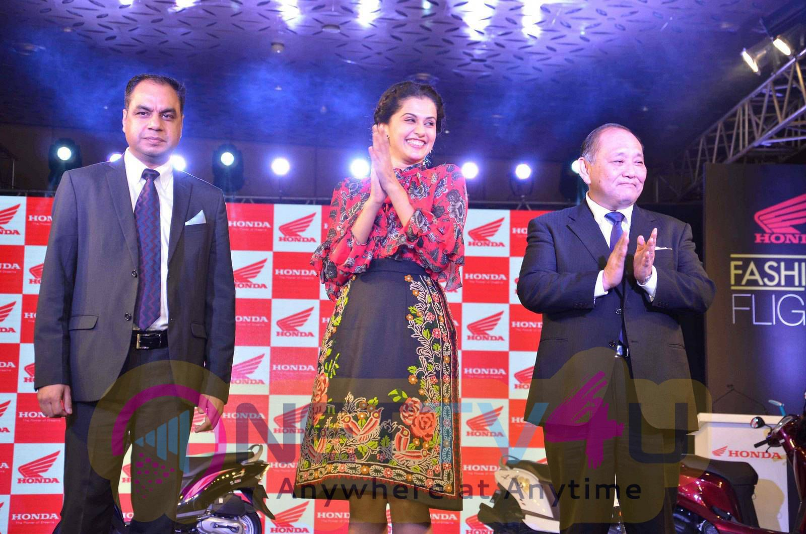 taapsee at activa i and aviator launch photos 22