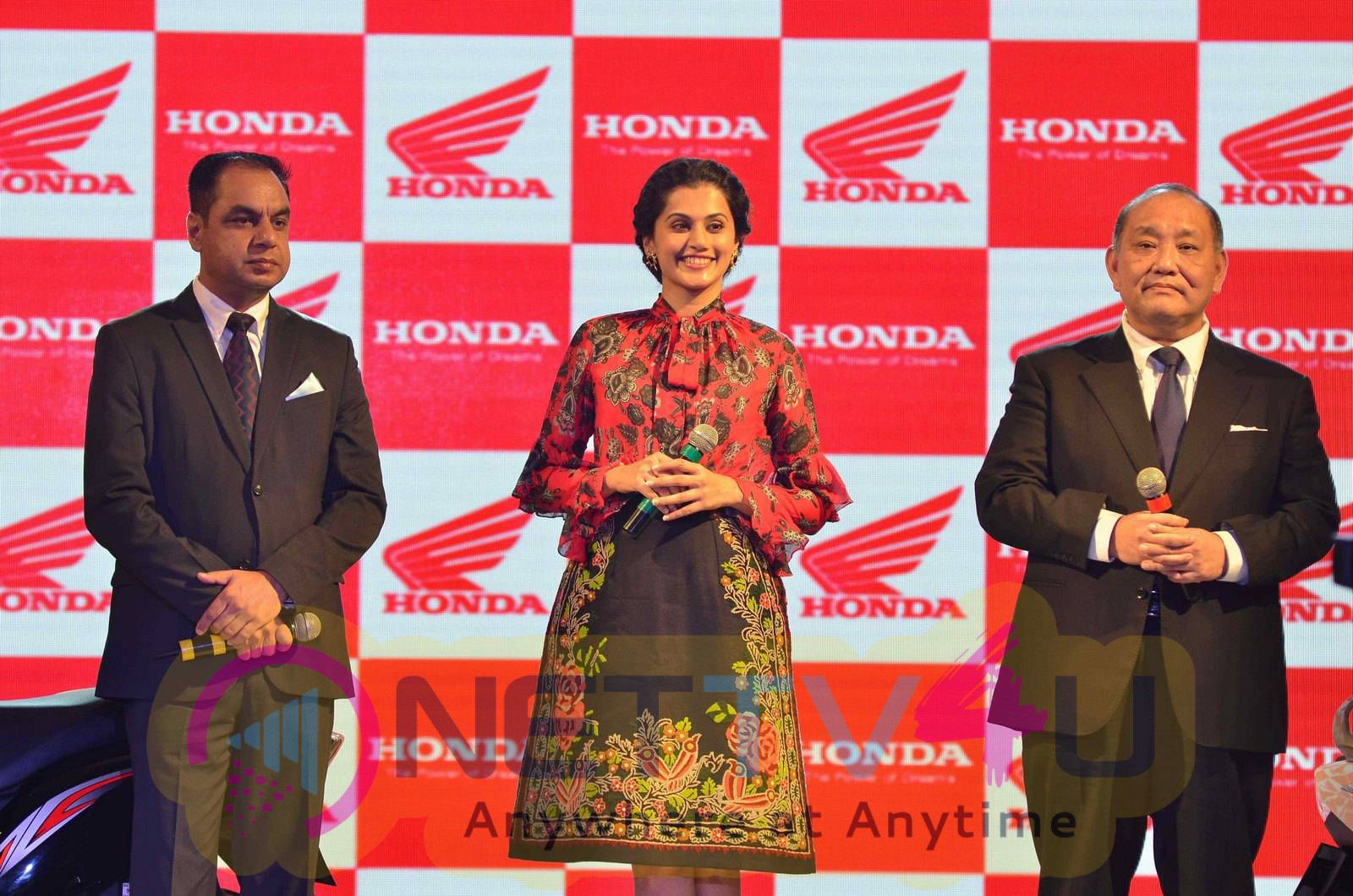 taapsee at activa i and aviator launch photos 23
