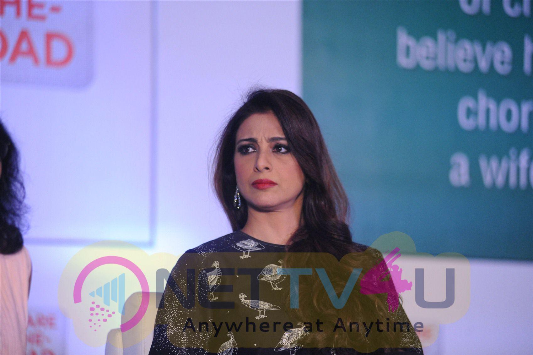 Tabu, Pankaj Kapur, Supriya Pathak At Ariel Debate On Womens Day Stills Hindi Gallery