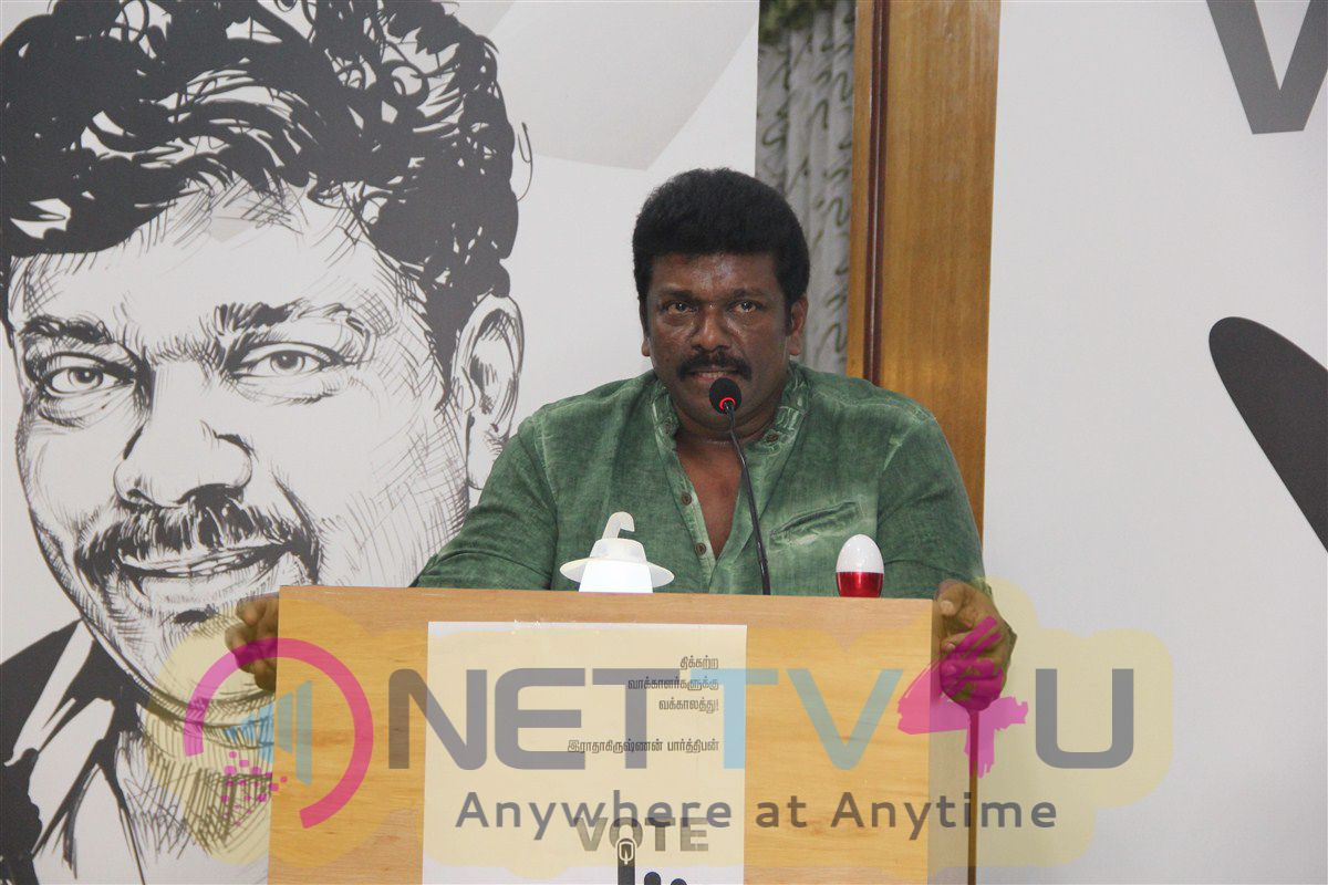 Tamil Actor Parthiepan Press Meet Excellent Photos Tamil Gallery