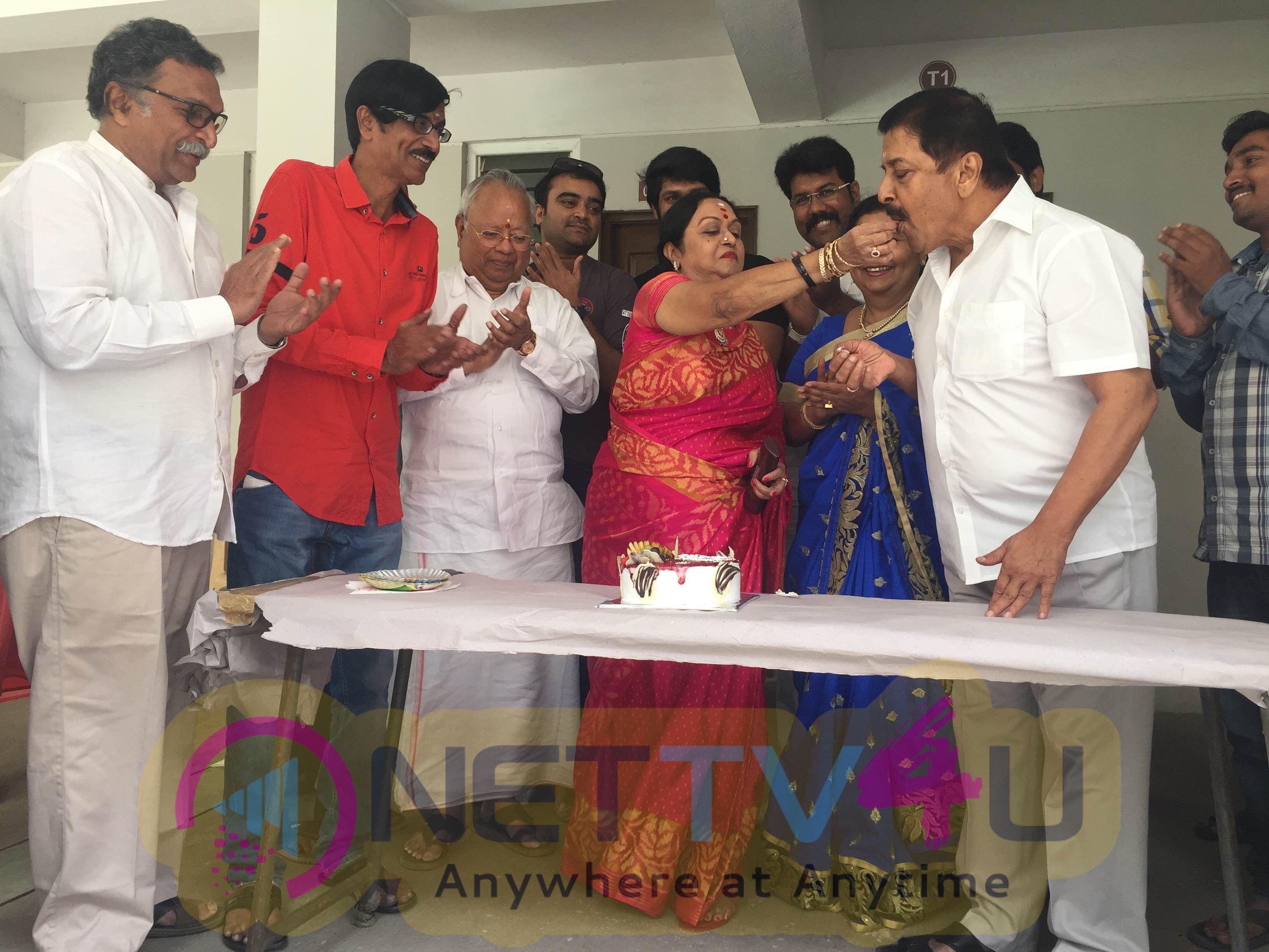 tamil actress saroja devi birthday celebration photos 3
