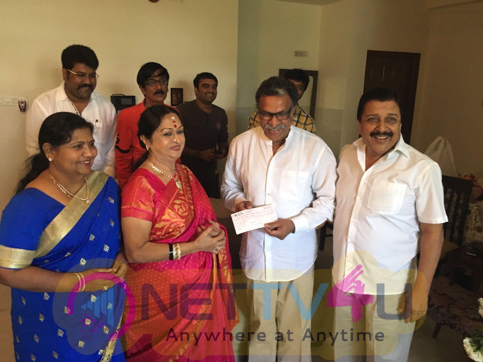 tamil actress saroja devi birthday celebration photos 6