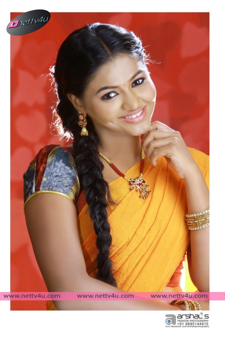 Tamil Actress Shalu In Different Costumes Stills