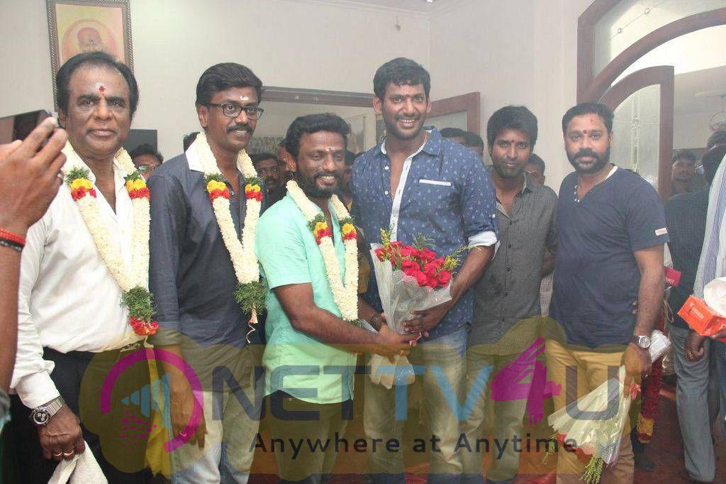 Tamil Director Pandiraj Film Launch Stills