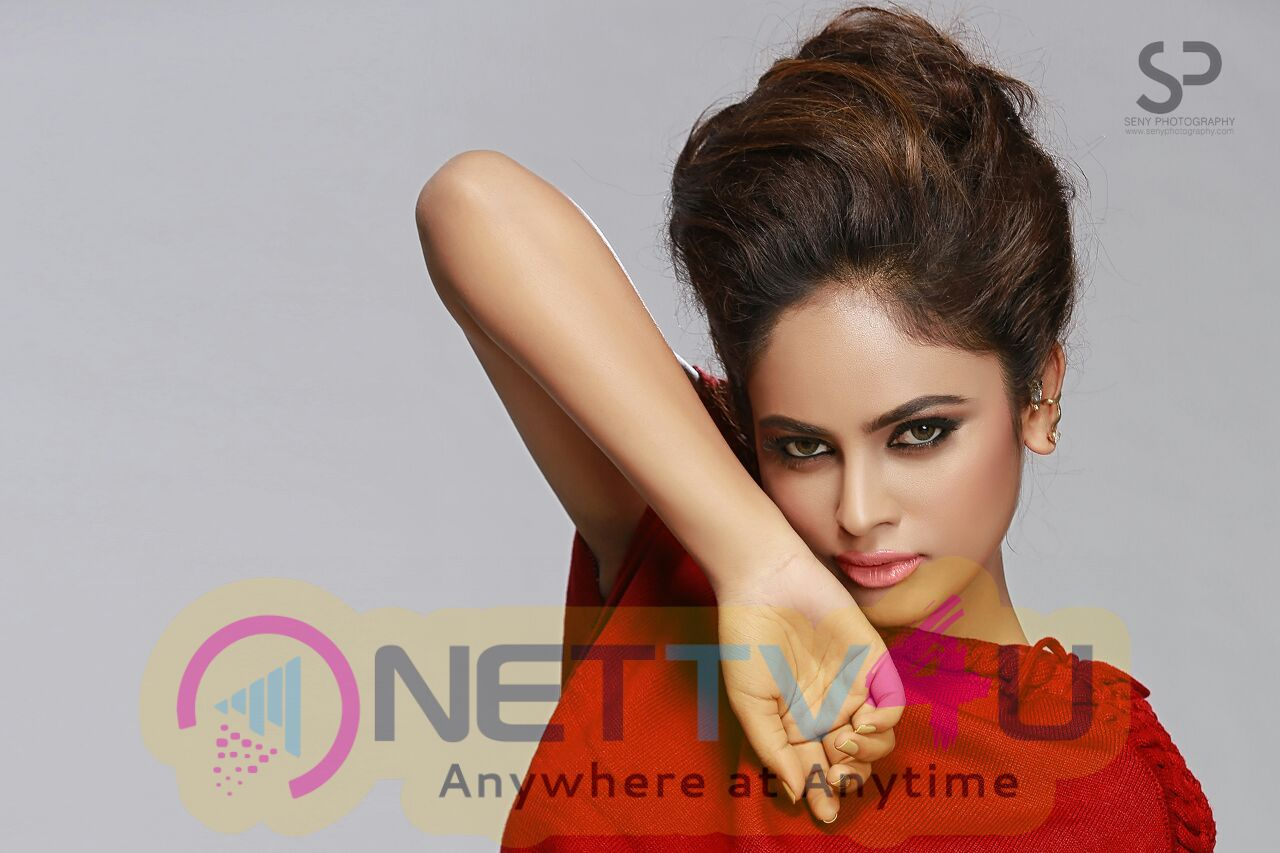 Tamil Film Actress Nandita Swetha Glamour Photos