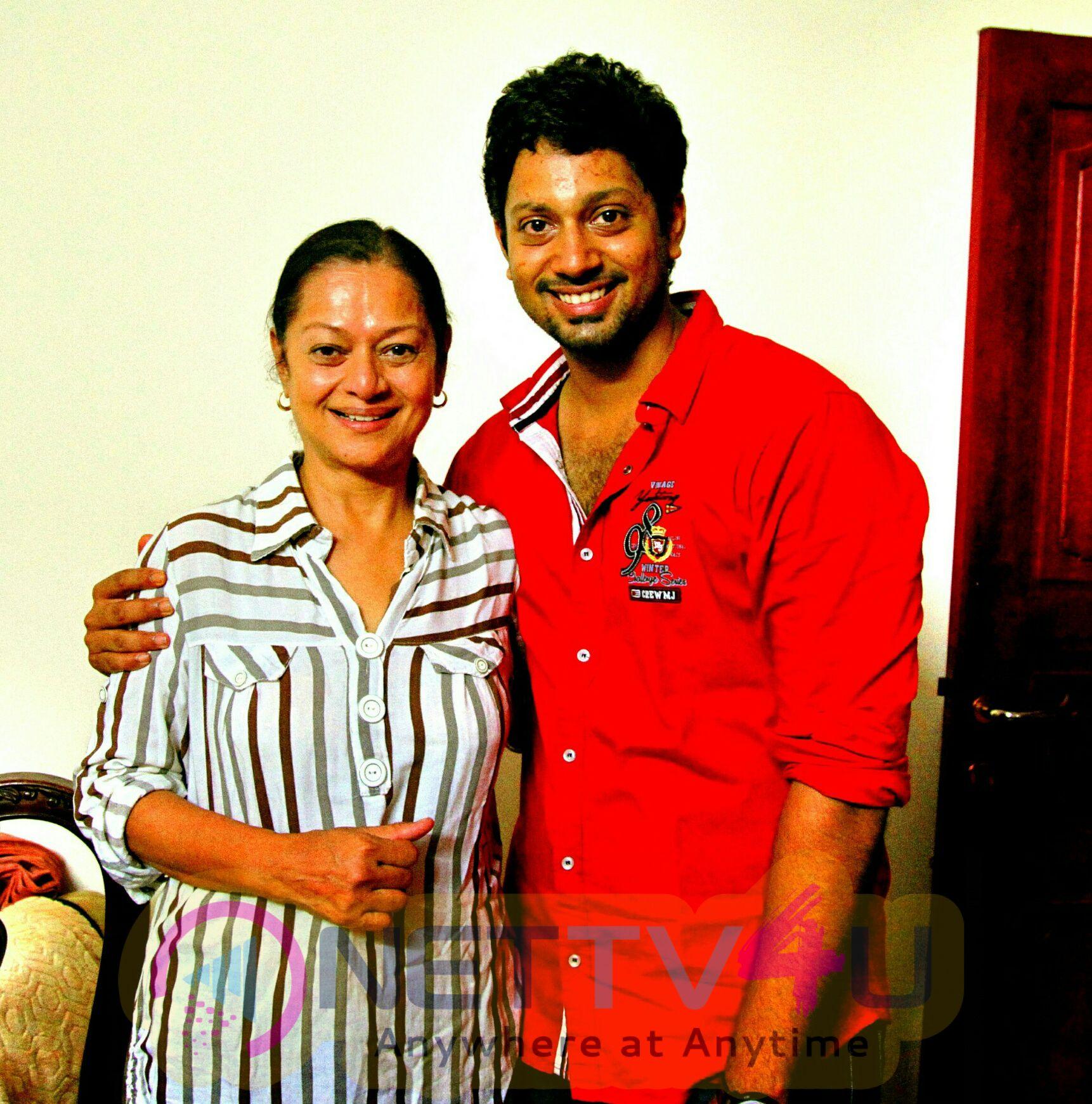 Tamil Film Event Anbendral Amma  Movie Working Stills
