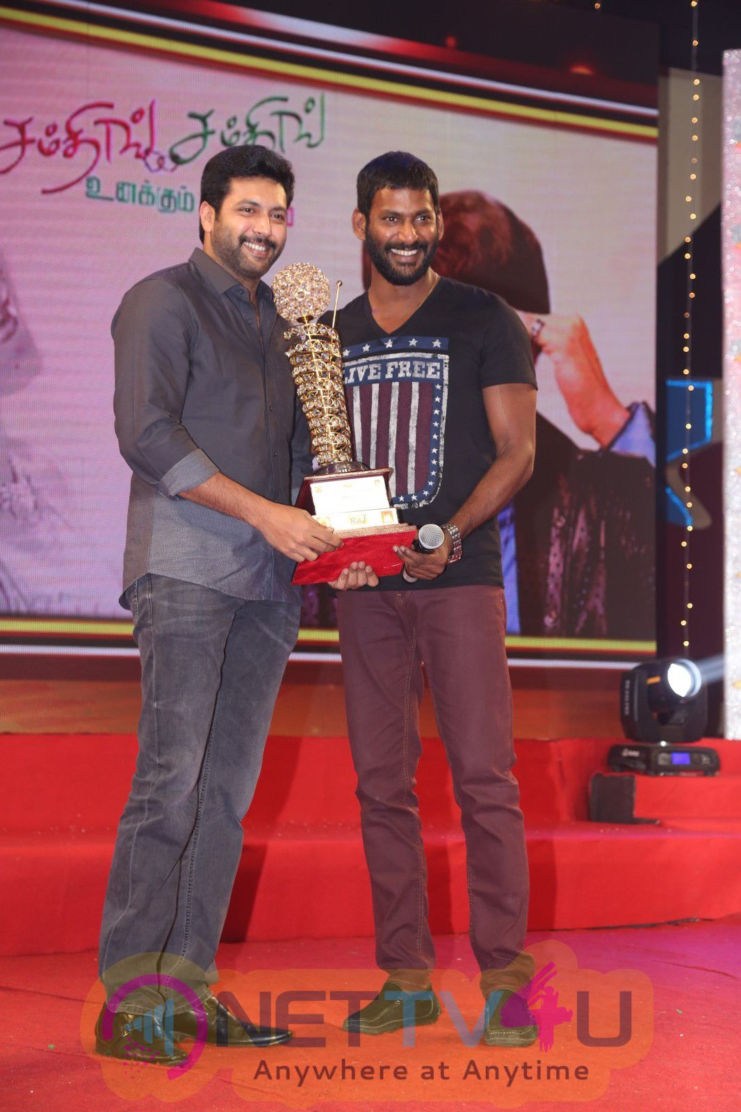 Tamil Film V4 Award Function Event Stills