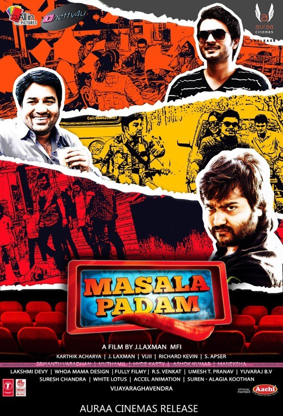 Tamil Movie Masala Padam Posters And Stills First On Net