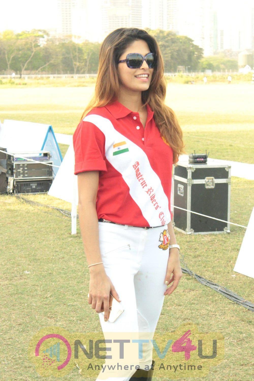 Tara Sharma, Rishabh Sinha & Parvati Omanakuttan At YES Bank Annual Polo Cup