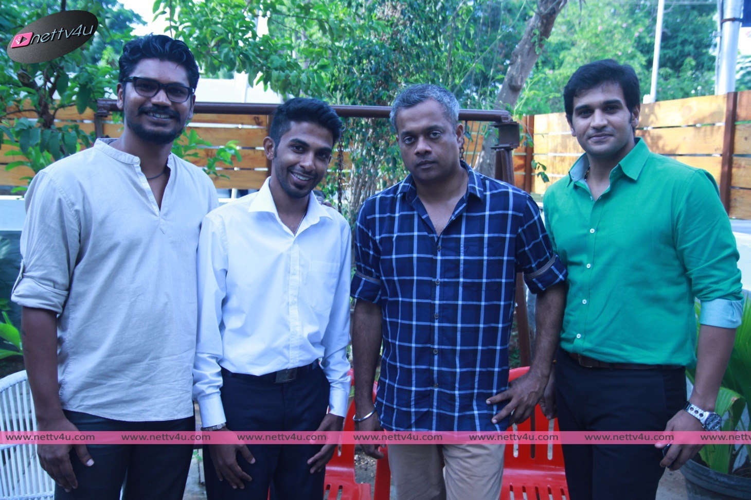 Teaser Launch Of Unakkenna Vaenum Sollu Tamil Movie By Director Gautham Vasudev Menon