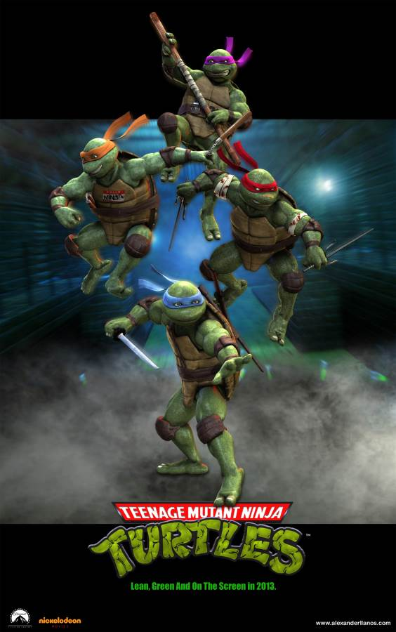 Teenage Mutant Ninja Turtles Movie Review English
