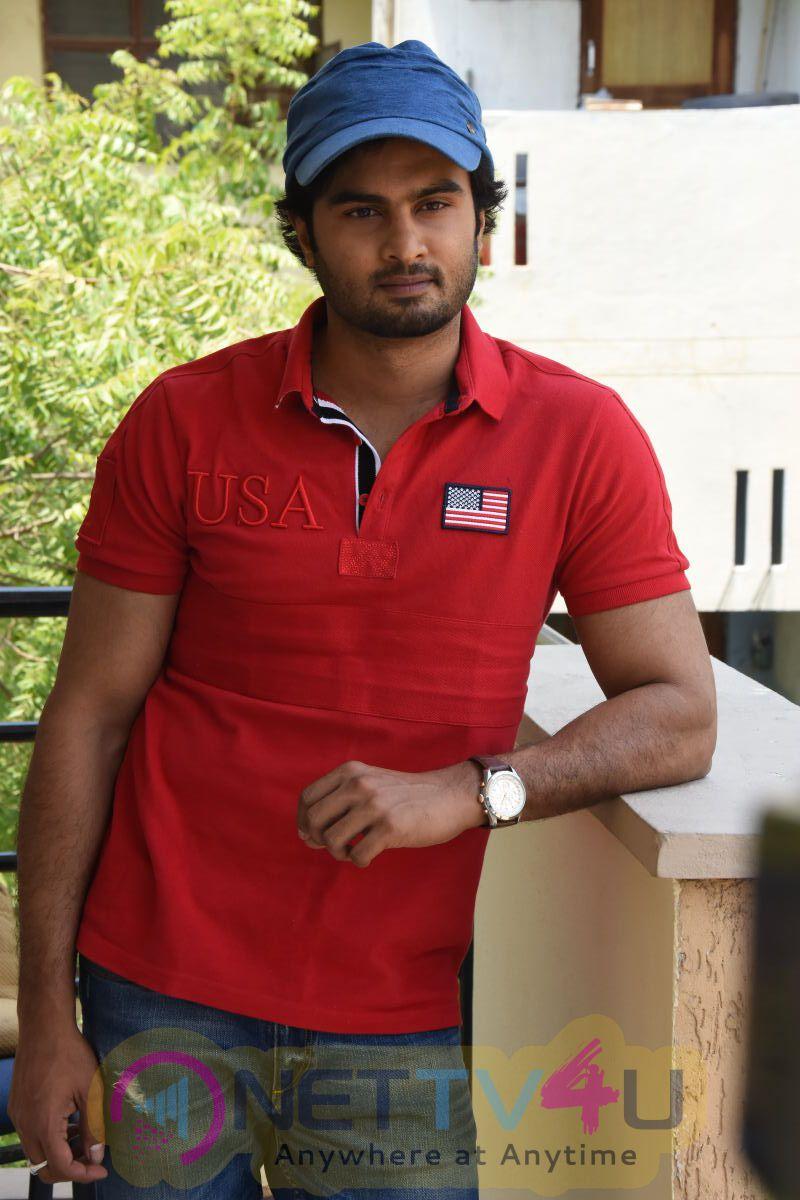 Telugu Actor Sudheer Babu Press Meet Dazzling Photos Telugu Gallery