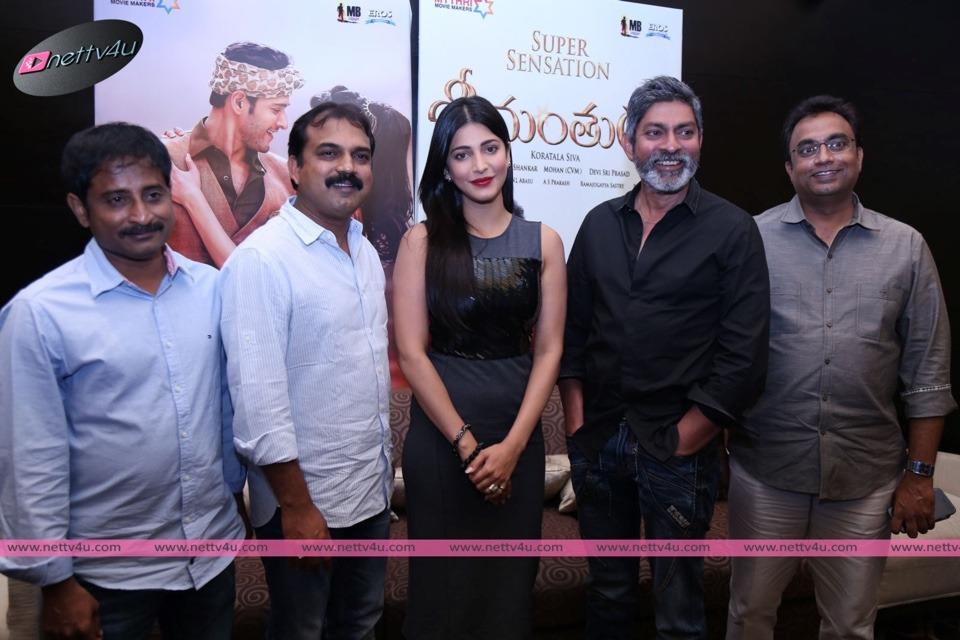 Telugu Movie Srimanthudu Thanks Meet