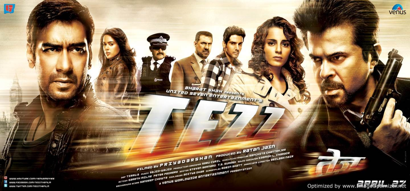 Tezz Movie Review Hindi