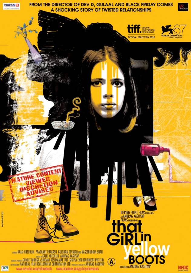 That Girl in Yellow Boots Movie Review Hindi