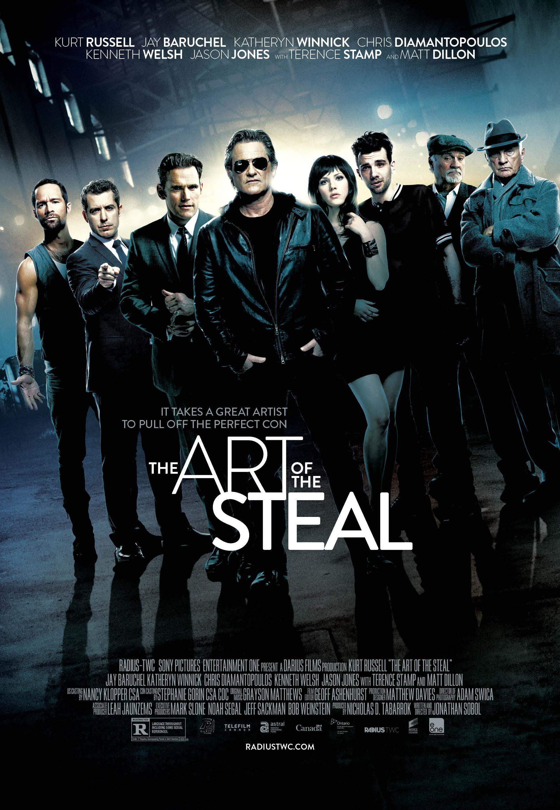 The Art of the Steal Movie Review English