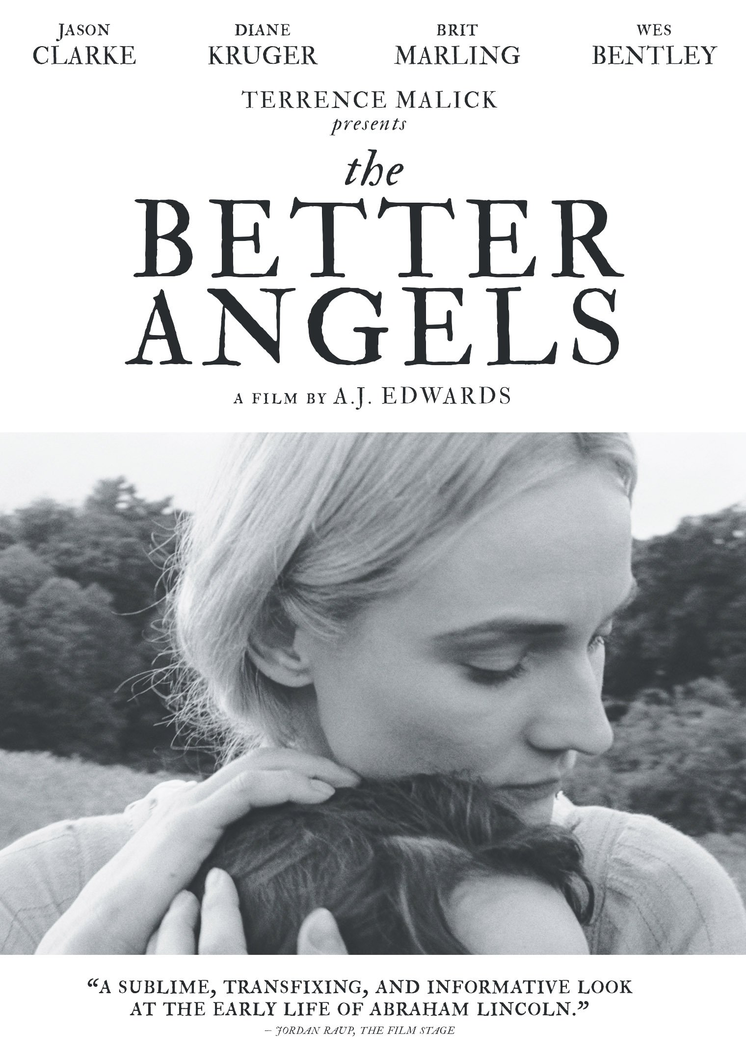 The Better Angels Movie Review English