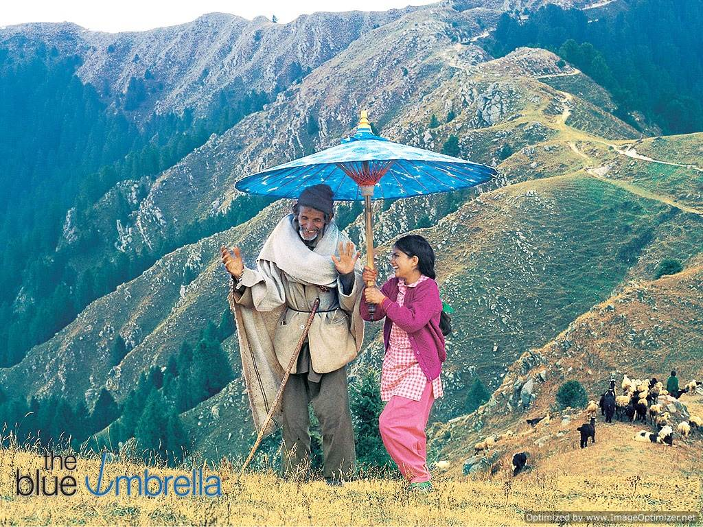 The Blue Umbrella Movie Review Hindi