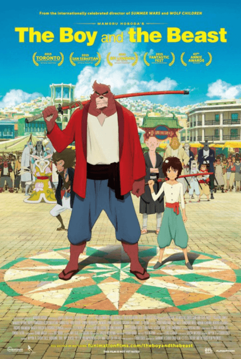 The Boy And The Beast Movie Review English Movie Review