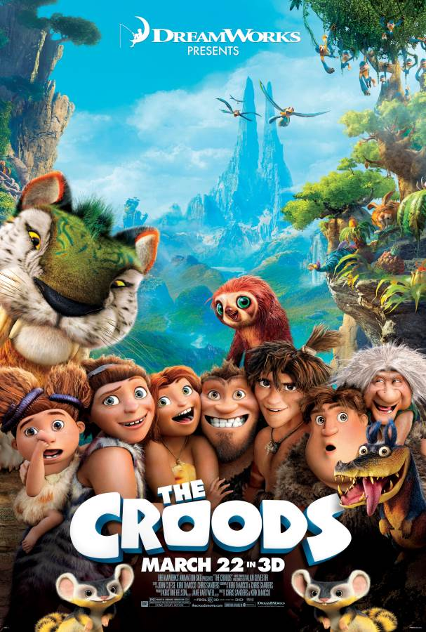 The Croods Movie Review English