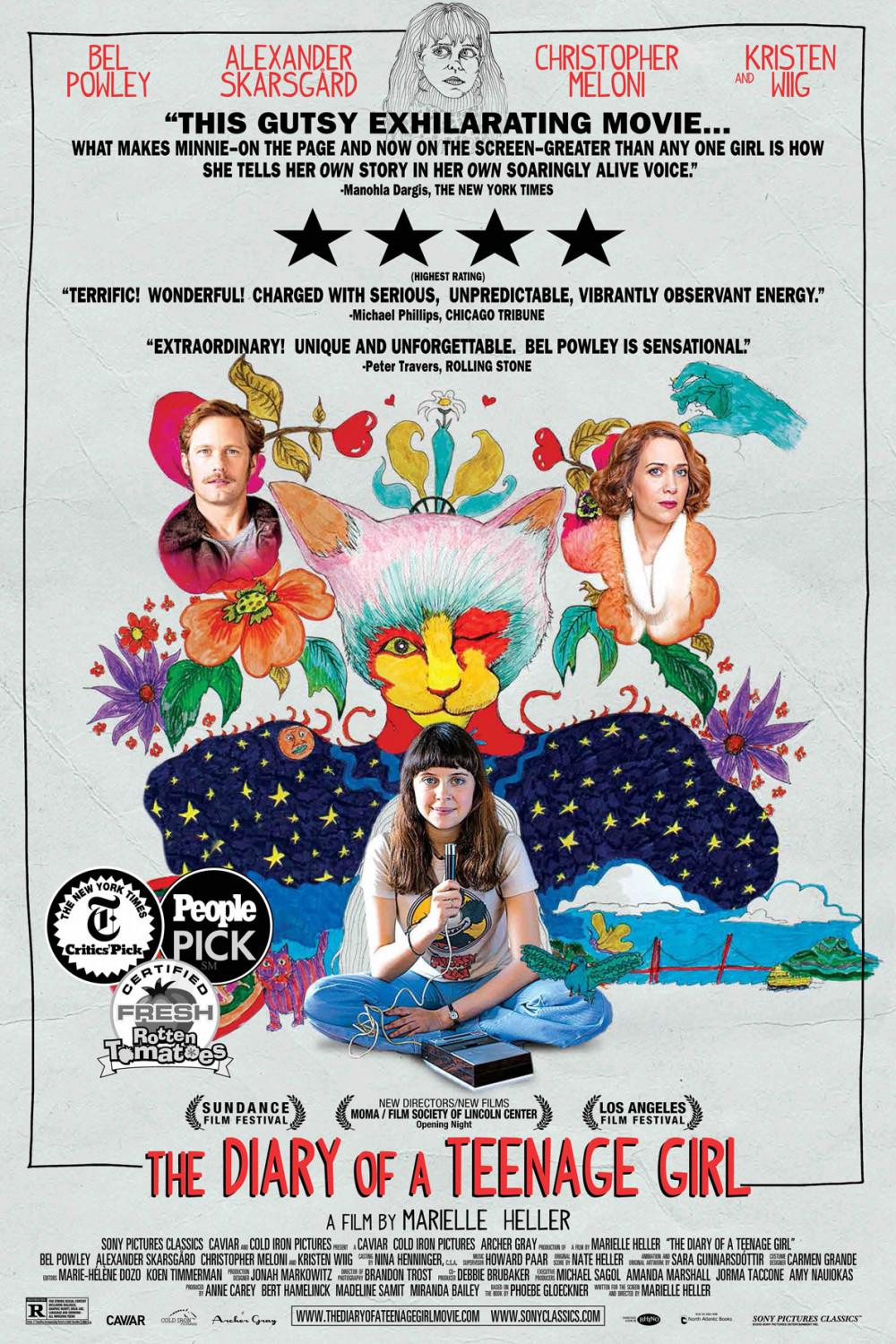 The Diary of a Teenage Girl Movie Review English
