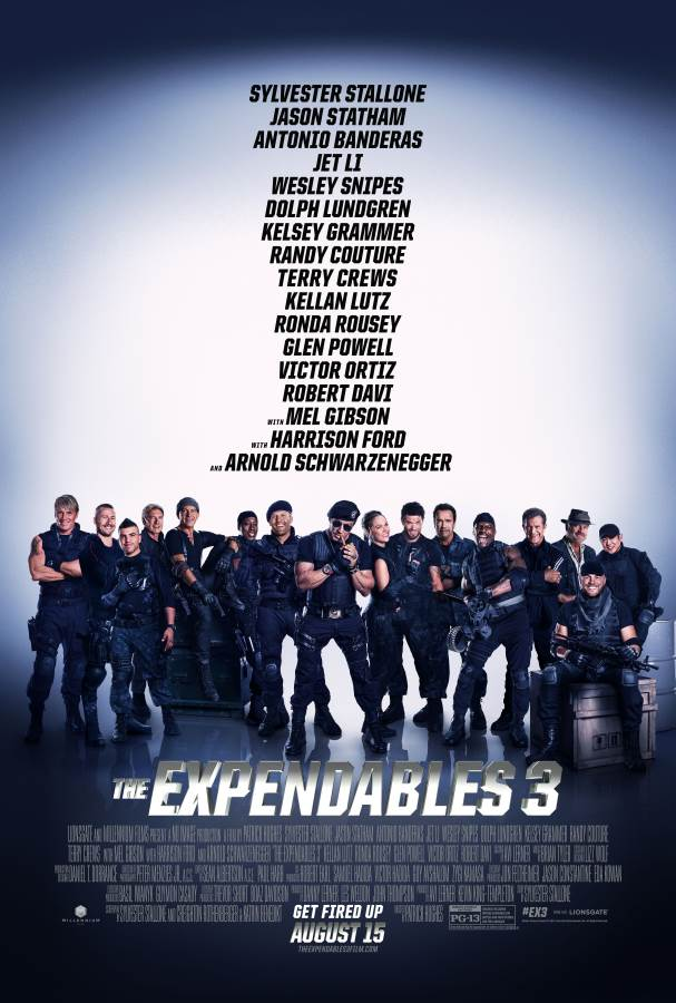 The Expendables 3 Movie Review English