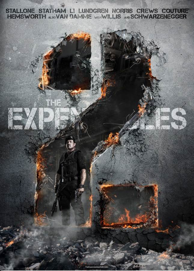 The Expendables Movie Review English