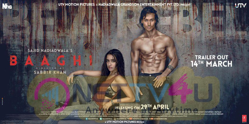 The First Look Poster Of Baaghi