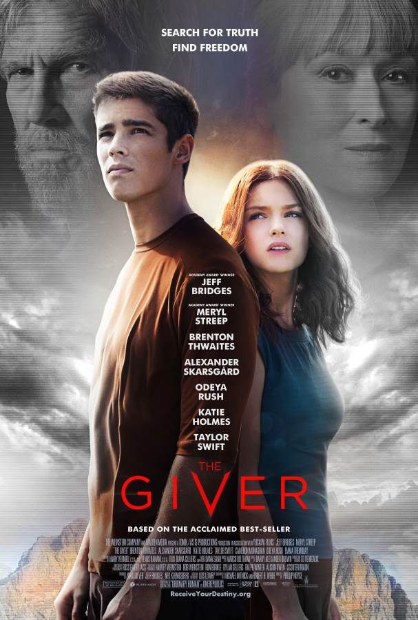 The Giver Movie Review English