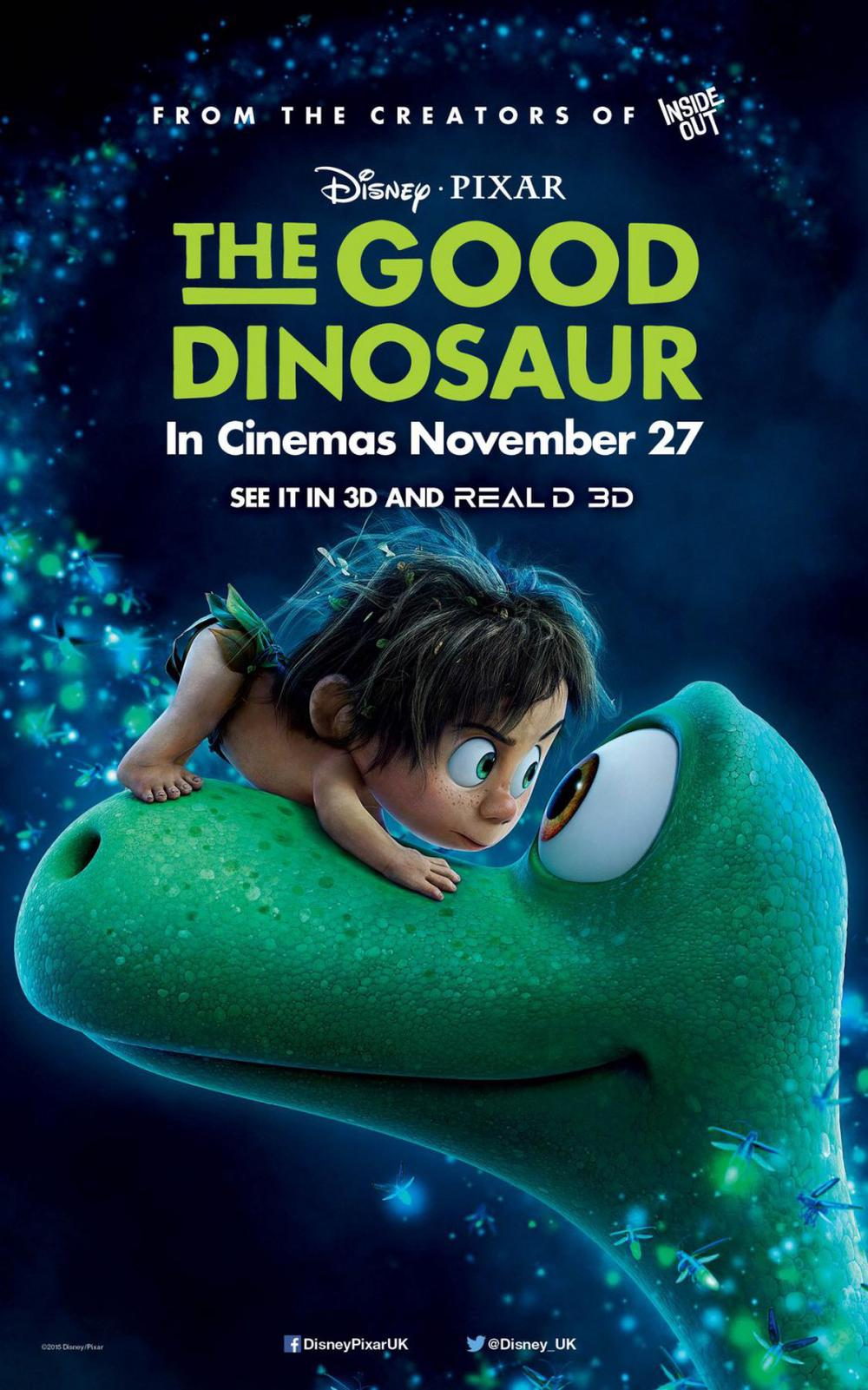 The Good Dinosaur Movie Review  English Movie Review