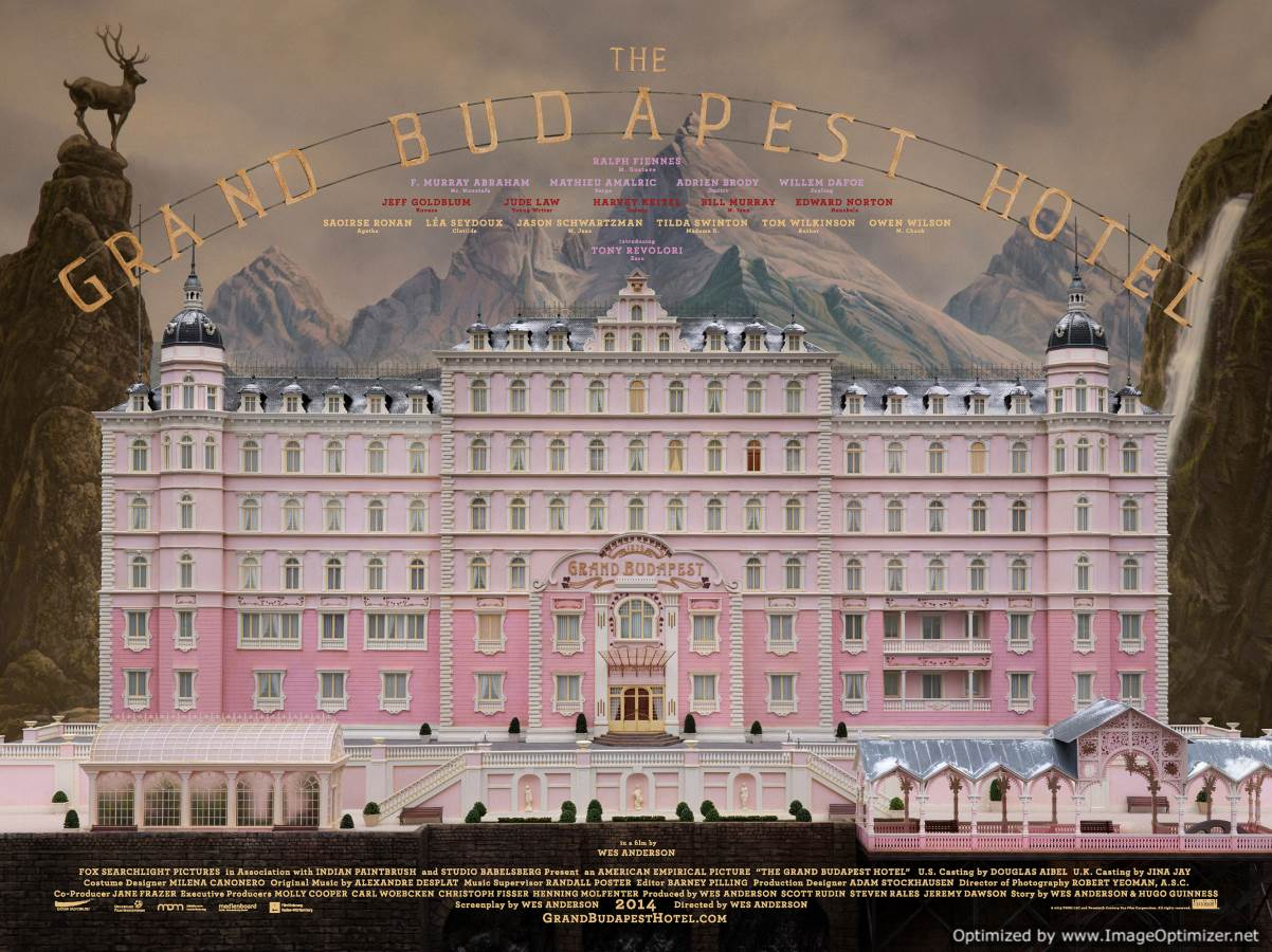 The Grand Budapest Hotel Movie Review English