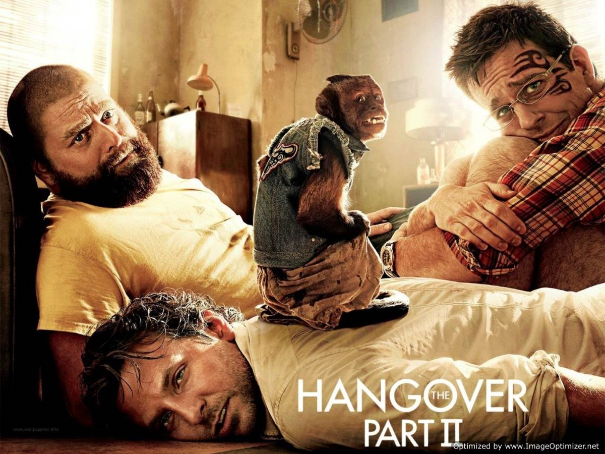 The Hangover Part II Movie Review English
