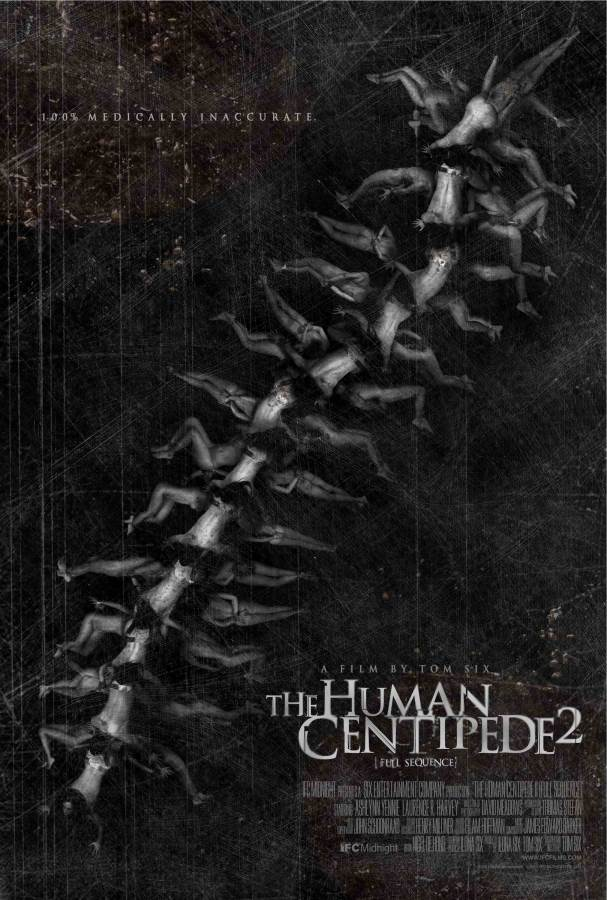 The Human Centipede 2 (Full Sequence) Movie Review English