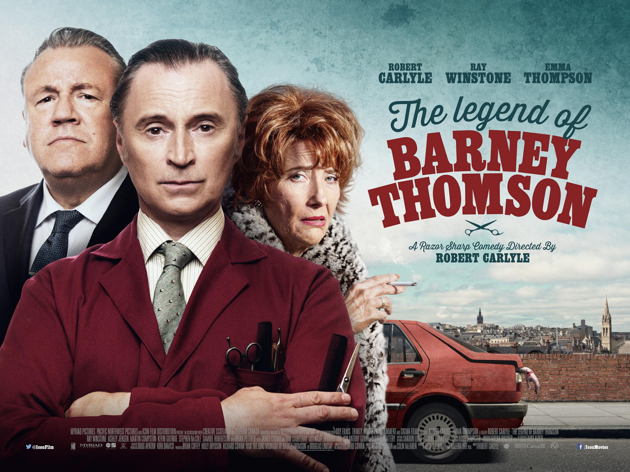 The Legend of Barney Thomson Movie Review English