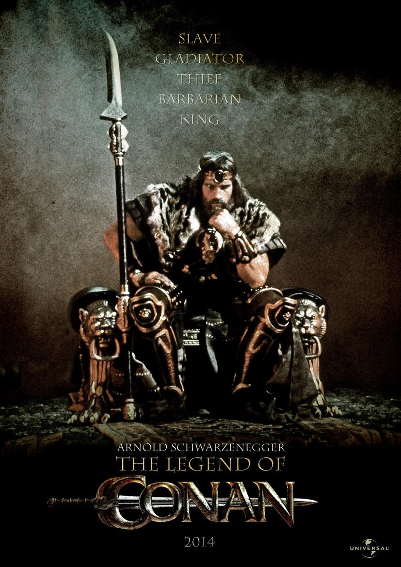 The Legend of Conan Movie Review English