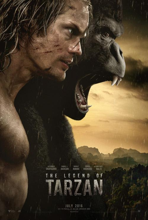 The Legend Of Tarzan Movie Review English Movie Review