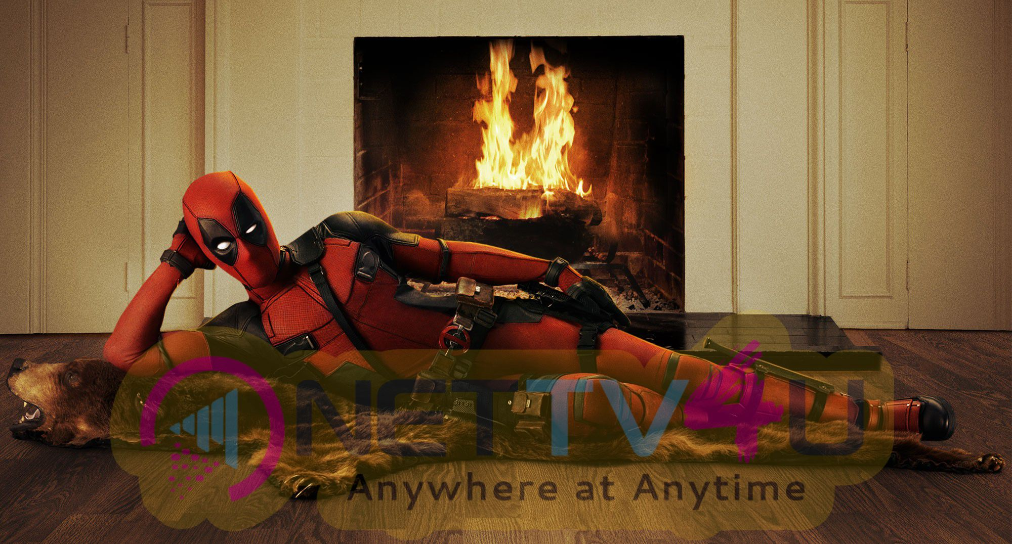 the live action deadpool movie trailer clips photos