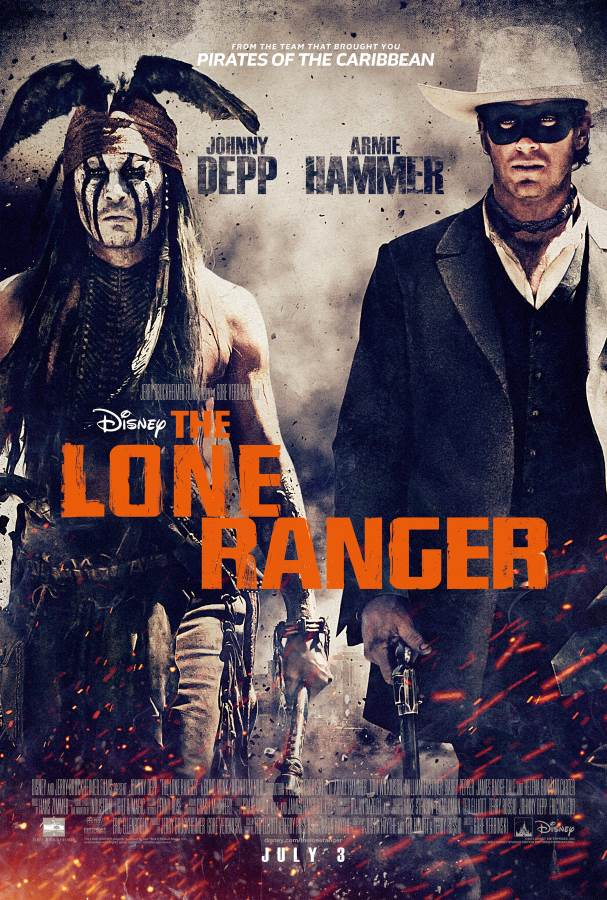 The Lone Ranger Movie Review English