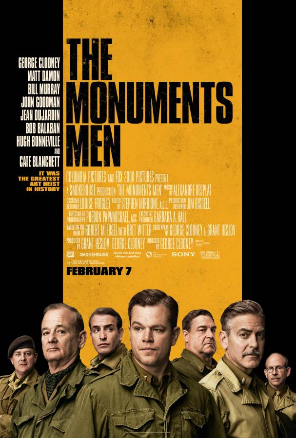 The Monuments Men Movie Review English