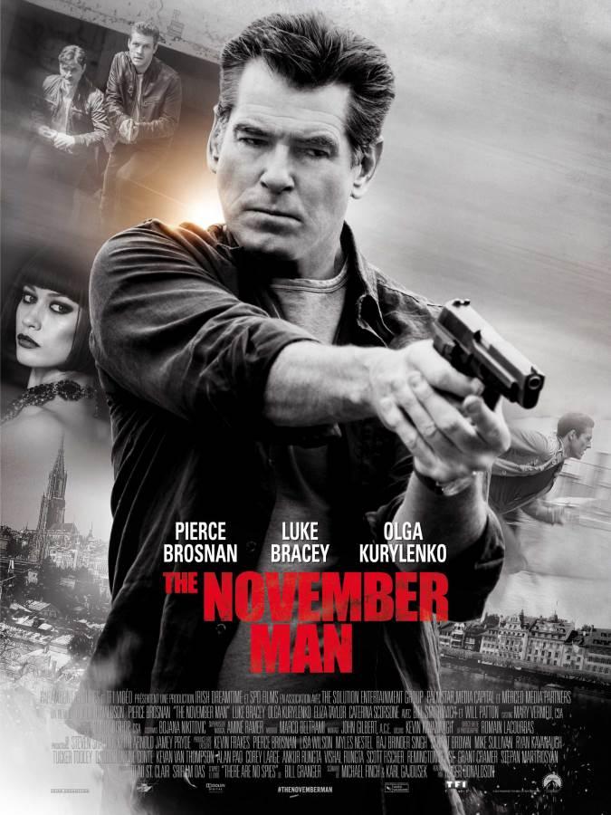 The November Man Movie Review English