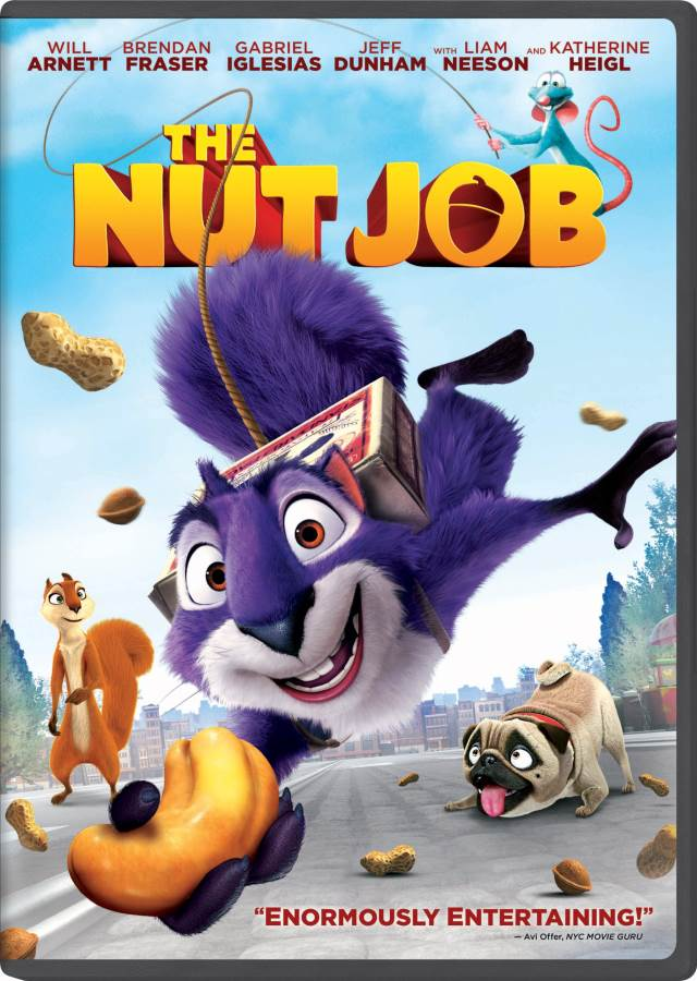 The Nut Job Movie Review English
