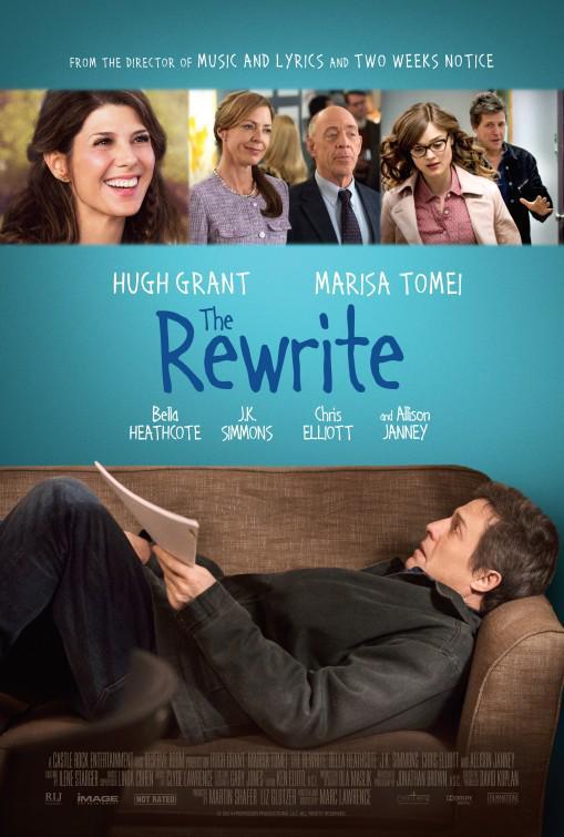 The Rewrite Movie Review English