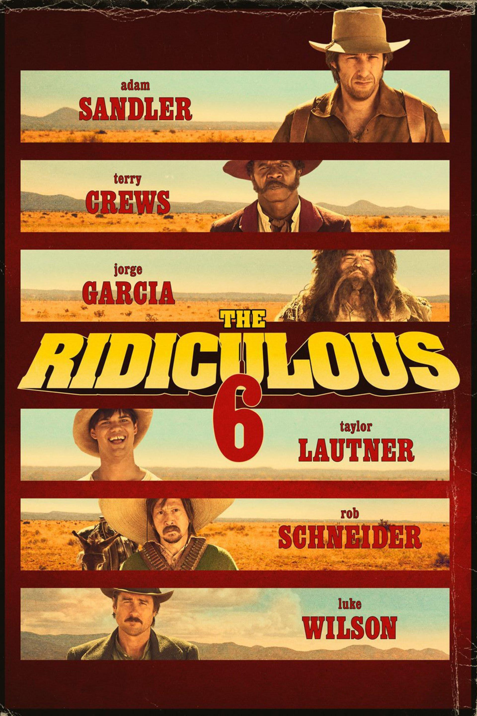 The Ridiculous 6 Movie Review English
