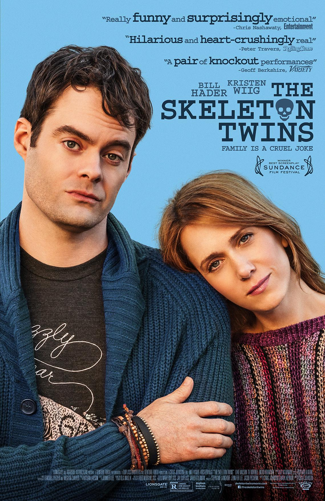 The Skeleton Twins Movie Review | Nettv4u.com
