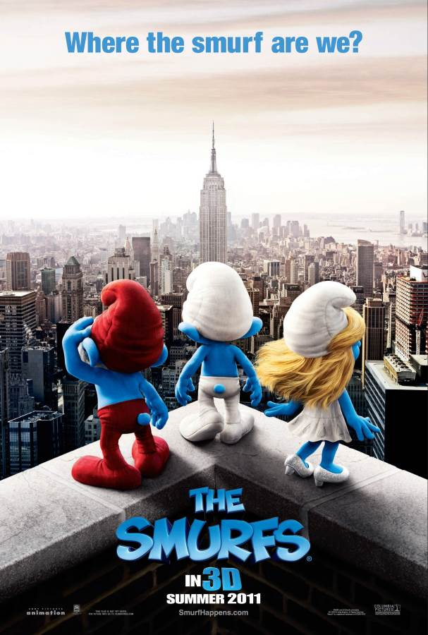 The Smurfs Movie Review English