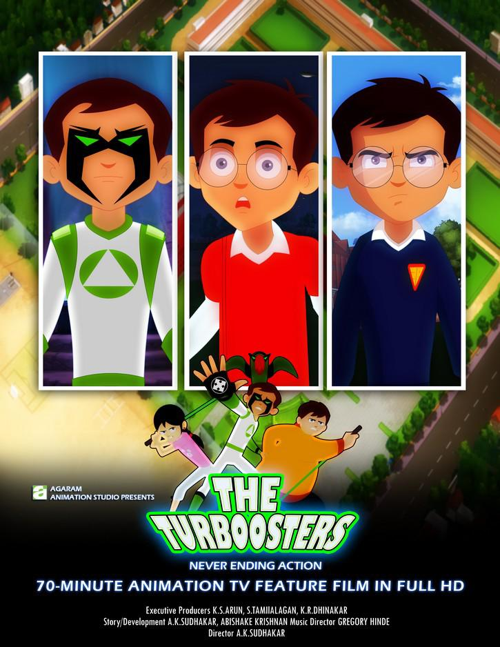 The Turboosters Movie Review English