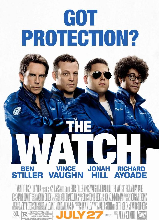 The Watch Movie Review English