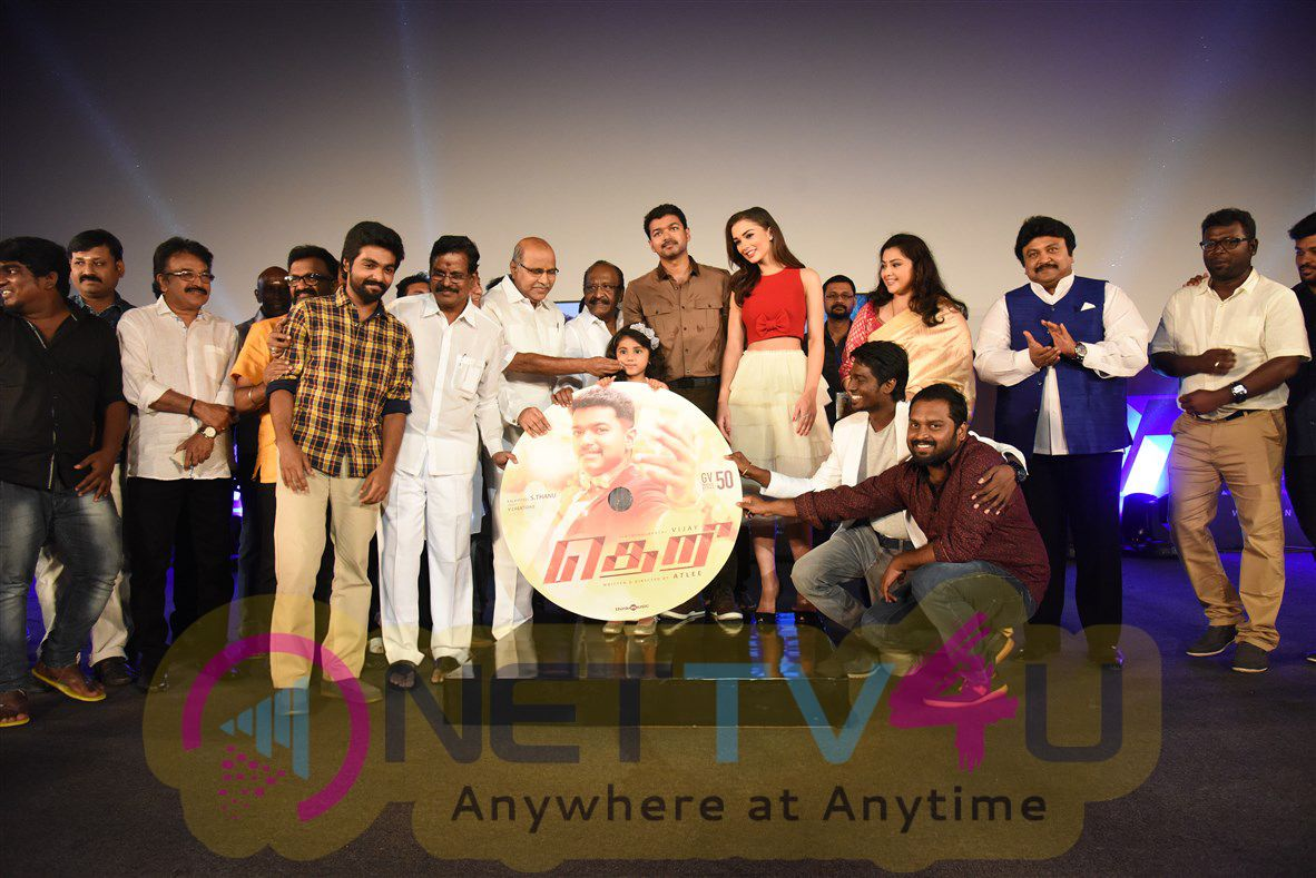 Theri Movie Audio Launch Latest Stills