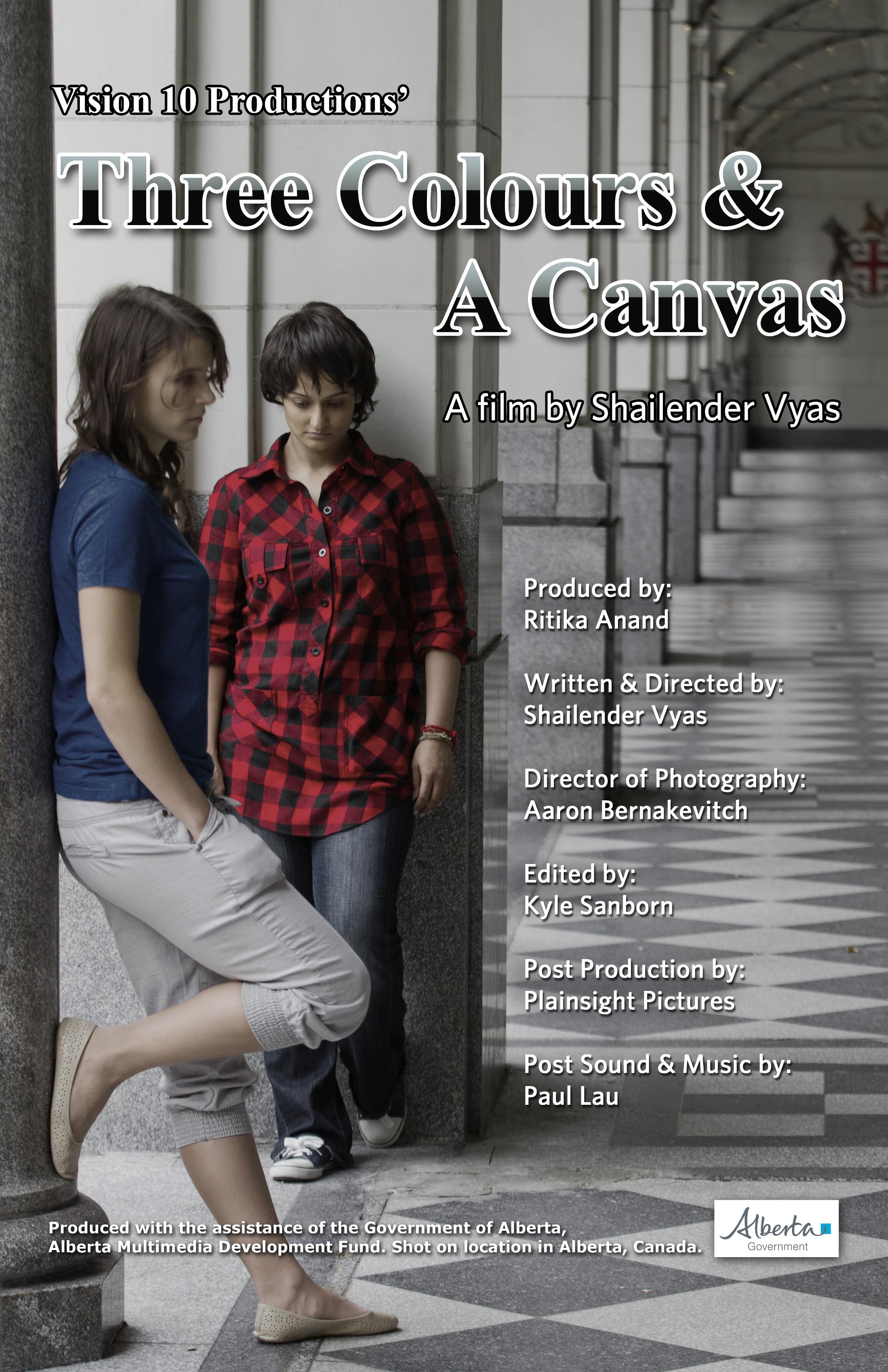 Three Colors & Canvas Movie Review English